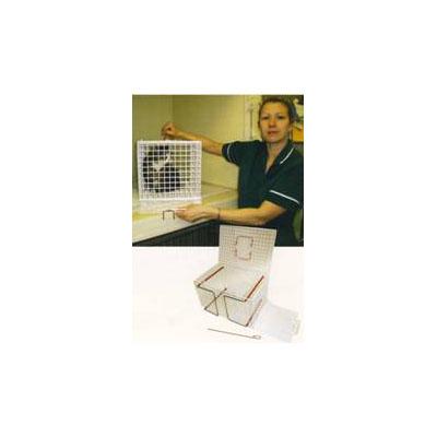 клетка за котки с подвижен под